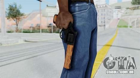 Wood Revolver para GTA San Andreas
