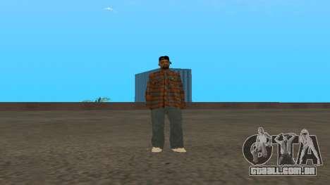 Skin FAM3 para GTA San Andreas terceira tela