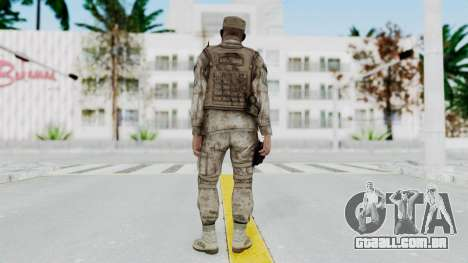 Crysis 2 US Soldier 3 Bodygroup A para GTA San Andreas terceira tela