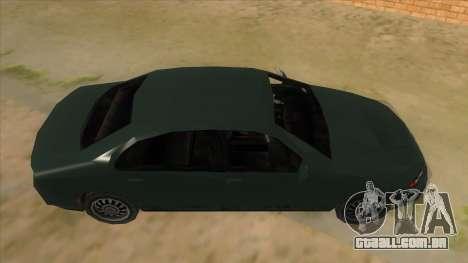 GTA LCS KURUMA para GTA San Andreas vista interior