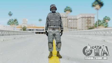 Acu Soldier Balaclava v2 para GTA San Andreas segunda tela