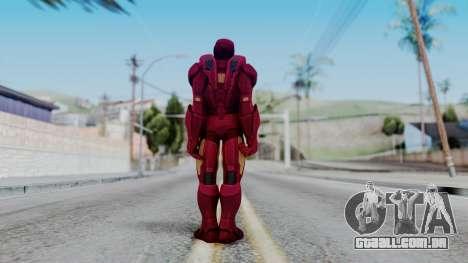 Ironman Skin para GTA San Andreas terceira tela