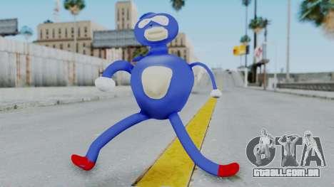 Sanic Hegehog para GTA San Andreas segunda tela