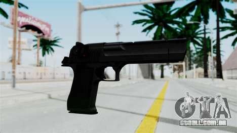 Pouxs Desert Eagle v2 Black para GTA San Andreas