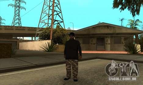 BALLAS3 para GTA San Andreas