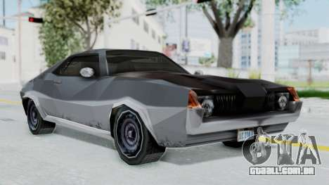 GTA LCS Hellenbach GT para GTA San Andreas traseira esquerda vista