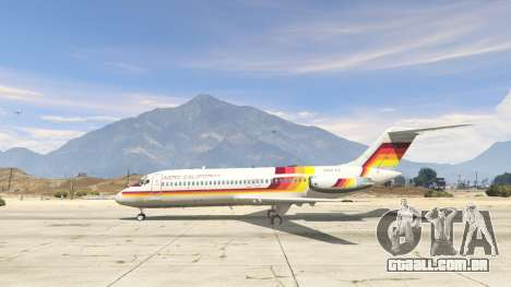 GTA 5 McDonnell Douglas DC-9-15 segundo screenshot