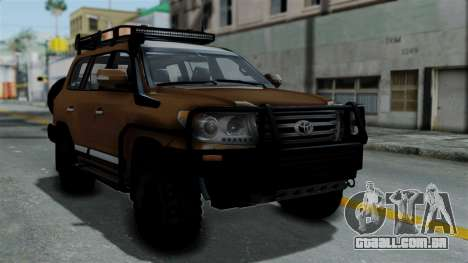 Toyota Land Cruiser 2013 Off-Road para GTA San Andreas