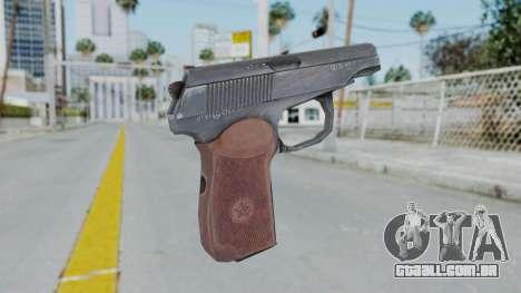 Arma2 Makarov para GTA San Andreas segunda tela