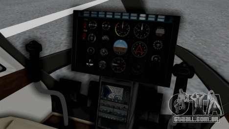 GTA 5 Super Volito Carbon para GTA San Andreas vista direita