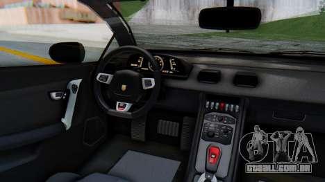 GTA 5 Pegassi Vacca SA Style para GTA San Andreas vista traseira