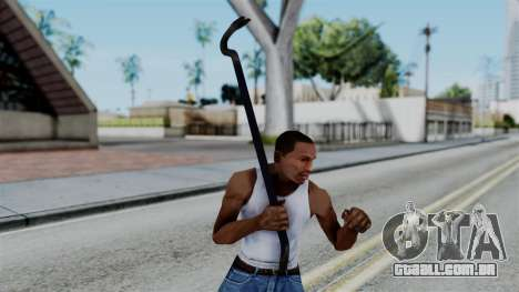 No More Room in Hell - Crowbar para GTA San Andreas terceira tela