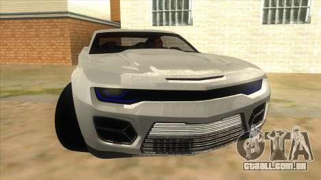 Chevrolet Camaro DOSH tuning MQ para GTA San Andreas vista traseira