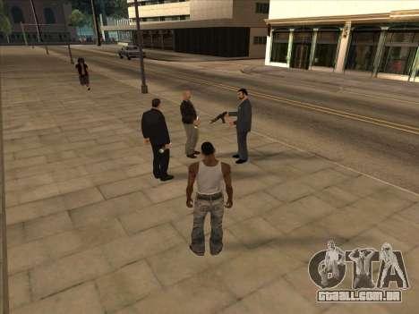 Os russos, no distrito Comercial para GTA San Andreas quinto tela