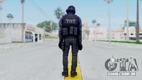 707 Masked from CSO2 para GTA San Andreas terceira tela