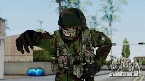 SAJ Maskirna para GTA San Andreas