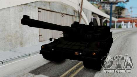 Point Blank Black Panther Woodland para GTA San Andreas
