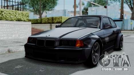 BMW M3 E36 Widebody para GTA San Andreas