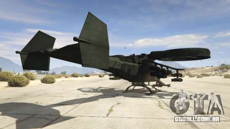 GTA 5 AT-99 Scorpion terceiro screenshot