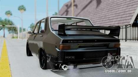 Dacia 1310 Tuned para GTA San Andreas esquerda vista