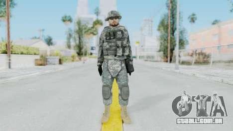 Acu Soldier 7 para GTA San Andreas segunda tela