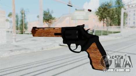 Wood Revolver para GTA San Andreas terceira tela