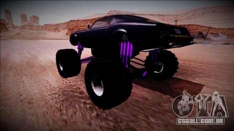 GTA 5 Imponte Phoenix Monster Truck para GTA San Andreas esquerda vista
