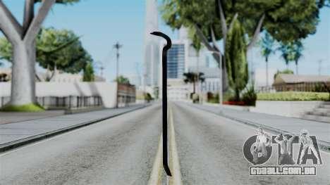 No More Room in Hell - Crowbar para GTA San Andreas segunda tela
