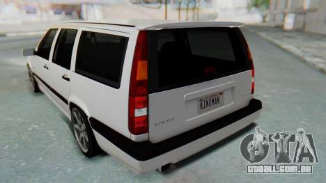 Volvo 850R 1997 Tunable para as rodas de GTA San Andreas