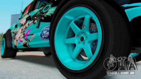 Ford F-150 2015 Drift Gym para GTA San Andreas vista traseira