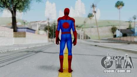 Marvel Future Fight Spider Man Classic v1 para GTA San Andreas terceira tela