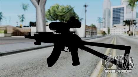 AK-103 OGA para GTA San Andreas segunda tela