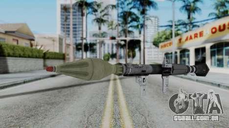 GTA 5 RPG - Misterix 4 Weapons para GTA San Andreas segunda tela
