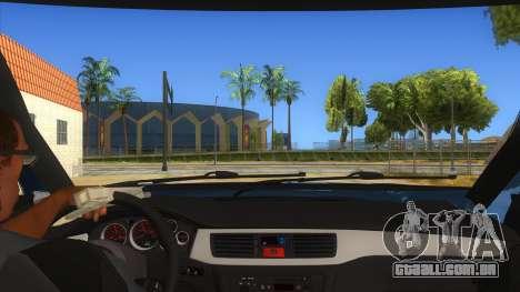 Mitsubishi Pajero Sport Dakar 2015 para GTA San Andreas vista interior