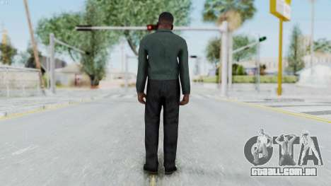 GTA 5 Franklin Clinton para GTA San Andreas terceira tela