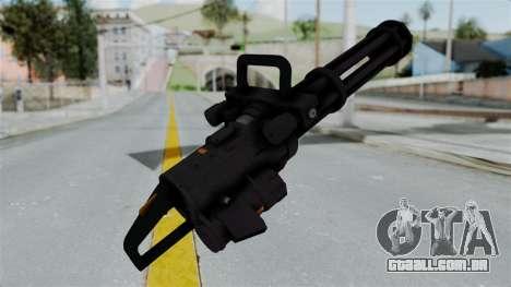 GTA 5 Minigun para GTA San Andreas terceira tela