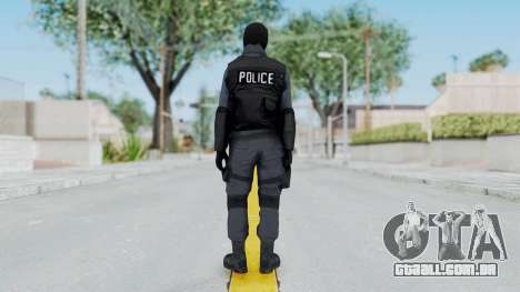 GTA 5 S.W.A.T. Police para GTA San Andreas terceira tela