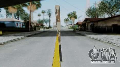 GTA 5 Baseball Bat 5 para GTA San Andreas segunda tela