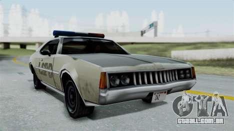 Police Clover para GTA San Andreas