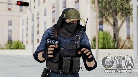 GIGN 2 Masked from CSO2 para GTA San Andreas