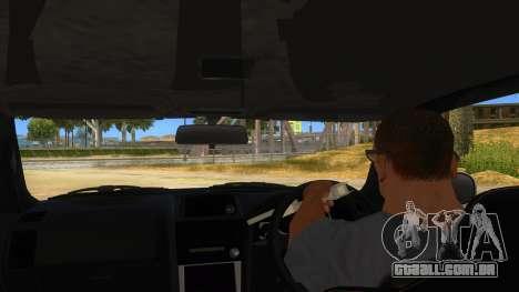 Nissan Skyline GT-R R34 Hatsune Miku para GTA San Andreas vista interior