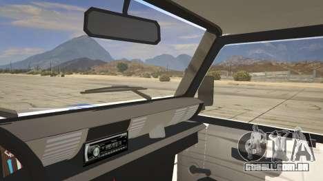 GTA 5 Land Rover Defender traseira direita vista lateral