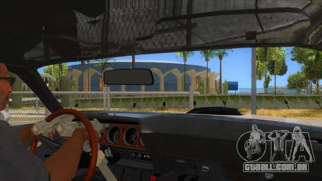 1971 Plymouth Hemi Cuda Monster Truck para GTA San Andreas vista interior