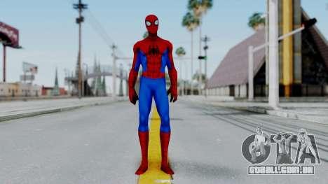 Marvel Future Fight Spider Man Classic v1 para GTA San Andreas segunda tela