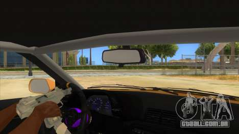 Nissan Skyline R32 Drift para GTA San Andreas vista interior