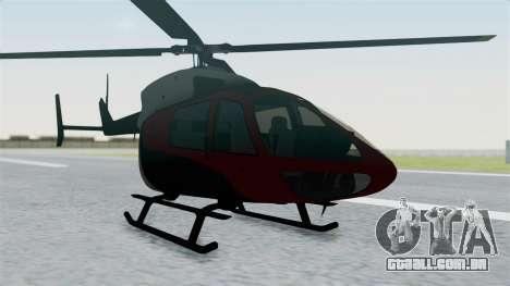 GTA 5 Super Volito Carbon para GTA San Andreas