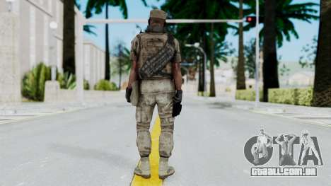 Crysis 2 US Soldier 4 Bodygroup B para GTA San Andreas terceira tela