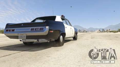 GTA 5 1972 AMC Matador LAPD voltar vista