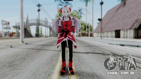 Fresh Precure Cure Passion para GTA San Andreas segunda tela