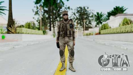 Crysis 2 US Soldier 3 Bodygroup A para GTA San Andreas segunda tela